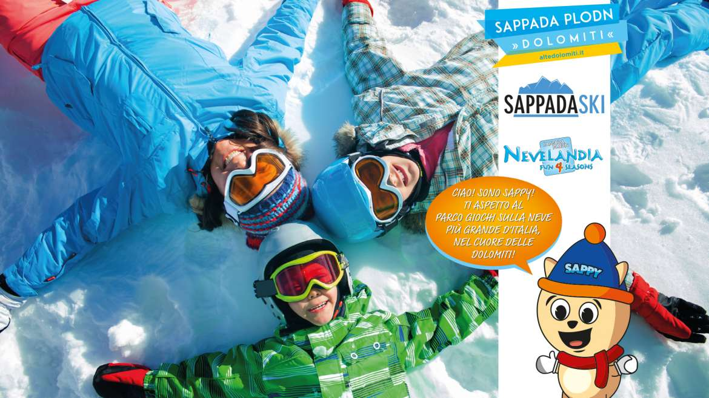 SPECIALE PACCHETTO SKIPASS SAPPADA SKI & HAPPY DAY NEVELANDIA
