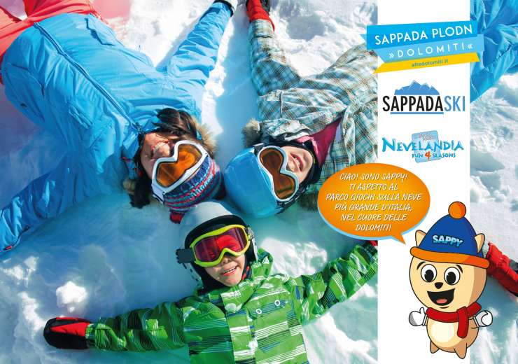 SPECIALE PACCHETTO SKIPASS SAPPADA SKI & HAPPY DAY NEVELANDIA