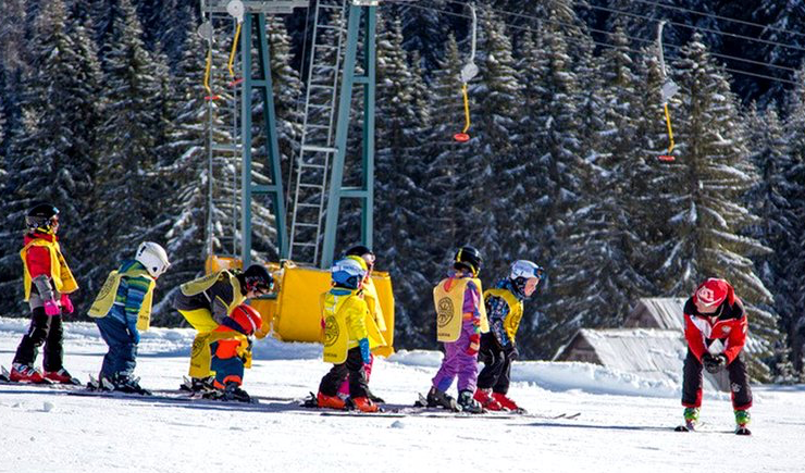 Imparare a sciare a Sappada