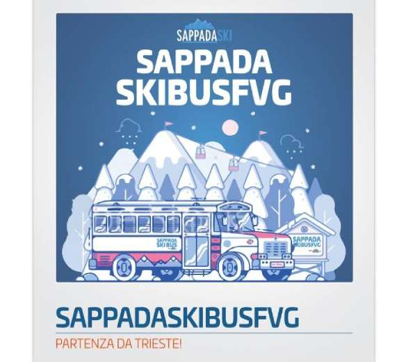 SAPPADASKIBUS FVG PARTENZA DA TRIESTE